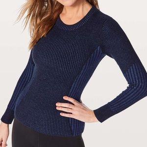NWT Lululemon Feeling Balanced Sweater Slim Fit 6